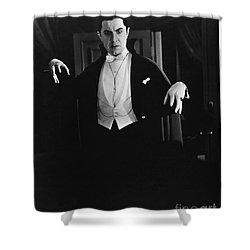 1931 Dracula Bela Lugosi Shower Curtain