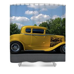 1931 Ford Coupe Hot Rod Shower Curtain