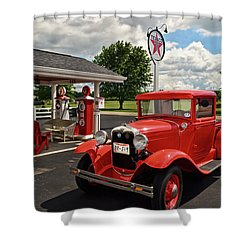 1931 Ford Truck  001 Shower Curtain