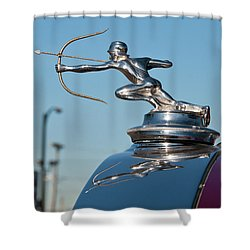 1931 Pierce Arrow 3471 Shower Curtain by Guy Whiteley