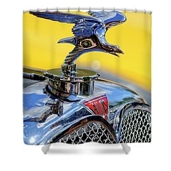 1932 Alvis Hood Ornament Shower Curtain by Jill Reger