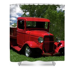 1932 Ford Flatbed Pickup Shower Curtain by Tim McCullough