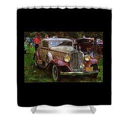 1932 Packard 900 Shower Curtain
