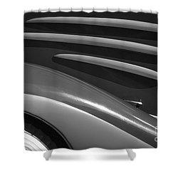 1934 Auburn Shower Curtain