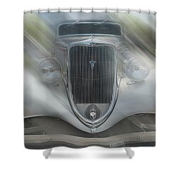 1934 Ford Coupe Shower Curtain by Louis Ferreira