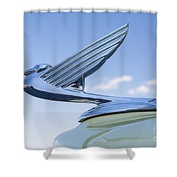 1935 Chevrolet Hoot Ornament Shower Curtain