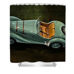 1936 Bmw 328 Roadster Shower Curtain