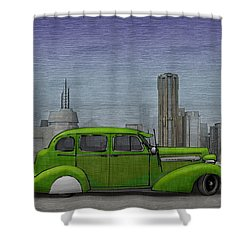 1936 Buick  Shower Curtain