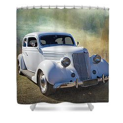 1936 Ford Shower Curtain