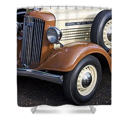 1936 Gmc Pickup Truck 1 Shower Curtain