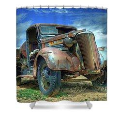 1937 Chevrolet Shower Curtain