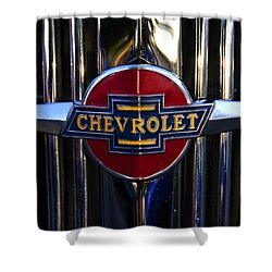 1937 Chevy Star Shower Curtain by David Lee Thompson