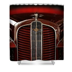 1937 Dodge Half-ton Panel Delivery Truck Shower Curtain by Gordon Dean II