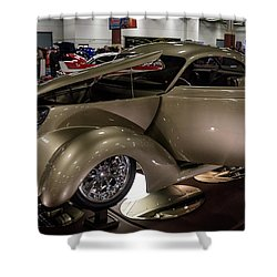 1937 Ford Coupe Shower Curtain by Randy Scherkenbach