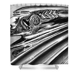 1937 Pontiac Chieftain Abstract Shower Curtain by Peter Piatt