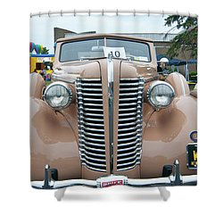 1938 Buick 2087 Shower Curtain by Guy Whiteley