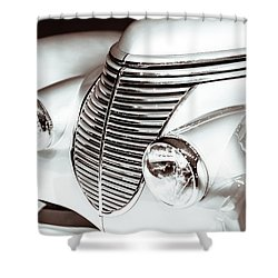 1938 Hispano-suiza H6b Xenia Front Shower Curtain