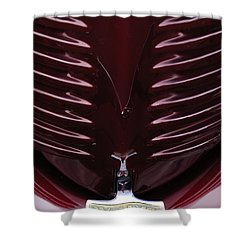 1938 Willys Grille Shower Curtain by Jill Reger