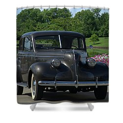 1939 Buick  Shower Curtain by Tim McCullough