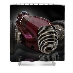 1939 Maserati 8ctf Indy Racer Shower Curtain
