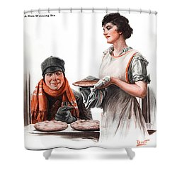 Shower Curtain featuring the photograph Cover Of Country Gentleman Agricultural by Remsberg Inc