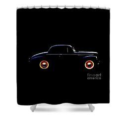 1940 Studebaker Business Coupe Shower Curtain by Baggieoldboy