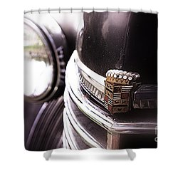 1940s Caddie Retro Feel Shower Curtain by John S