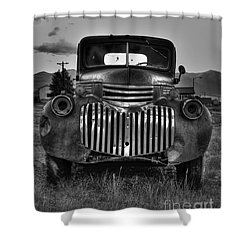 1940's Chevrolet Grille Shower Curtain