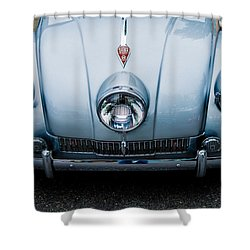 Shower Curtain featuring the photograph 1947 Tatra T87 by M G Whittingham