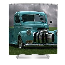 1941 Chevrolet Pickup Truck Shower Curtain by Tim McCullough