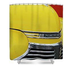 1941 Chevrolet Sedan Hood Ornament 2 Shower Curtain by Jill Reger