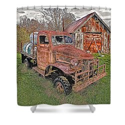 1941 Dodge Truck #2 Shower Curtain
