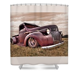 1941 Rusty Chevrolet Shower Curtain
