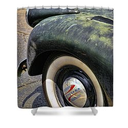 1946 Chevy Pick Up Shower Curtain by Gordon Dean II