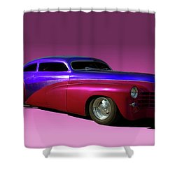 1947 Cadillac Radical Custom Shower Curtain by Tim McCullough
