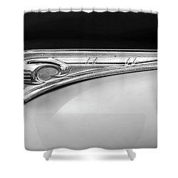 1947 Dodge Gi Joe Hood Ornament 2 Shower Curtain by Jill Reger