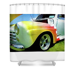1947 Ford Coupe Shower Curtain