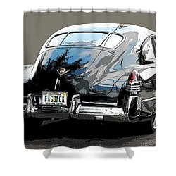 1948 Fastback Cadillac Shower Curtain by Robert Meanor