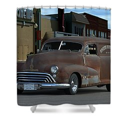 1948 Oldsmobile Sedan Delivery Shower Curtain by Tim McCullough