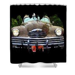 1948 Packard Super 8 Touring Sedan Shower Curtain by Thom Zehrfeld