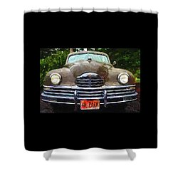 1948 Packard Super 8 Touring Sedan Shower Curtain