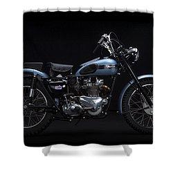 1949 Triumph Trophy Shower Curtain