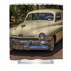 1951 Mercury 4 Door Sedan Shower Curtain