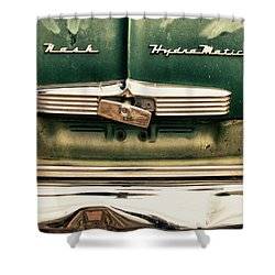1951 Nash Ambassador Hydramatic Shower Curtain by James BO  Insogna