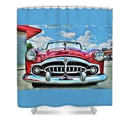1952 Packard 250 Convertible Shower Curtain