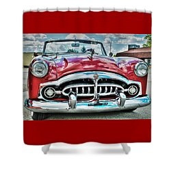 1952 Packard Shower Curtain