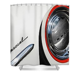 Shower Curtain featuring the photograph 1953 Special by Dennis Hedberg