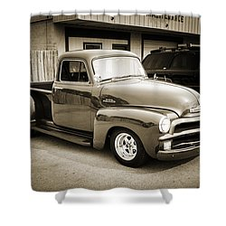 1954 Chevrolet Pickup Classic Car Photograph 6736.01 Shower Curtain
