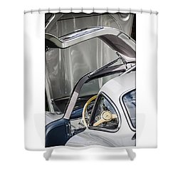1954 Mercedes-benz 300sl Gullwing Shower Curtain