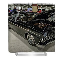 1955 Ford Customline Shower Curtain by Randy Scherkenbach